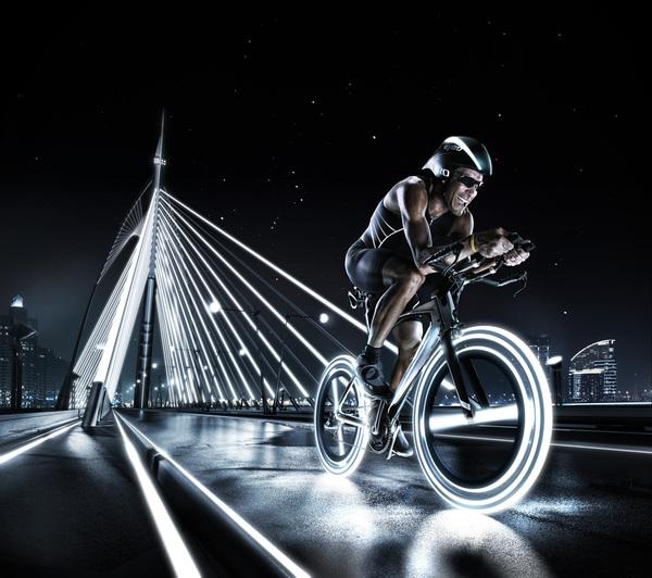 el futuro del deporte ciclismo puente