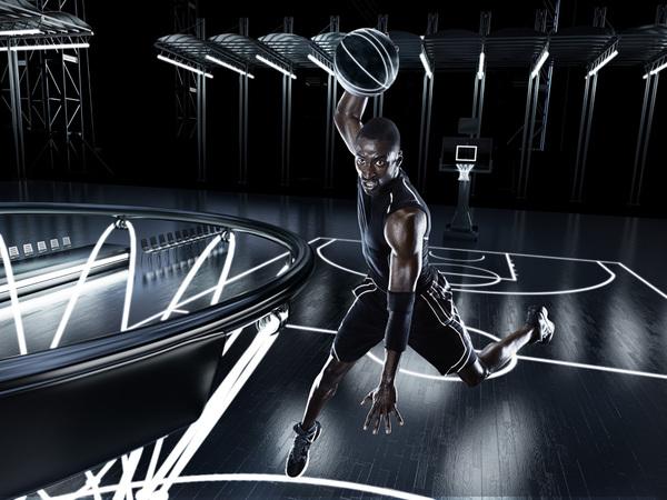 el futuro del deporte clavada basketball