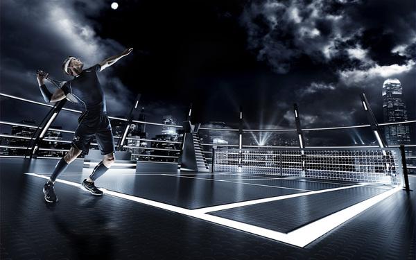 el futuro del deporte saque tennis