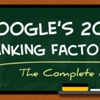 factores de ranking google