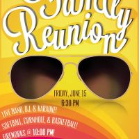 family reunion poster creativo