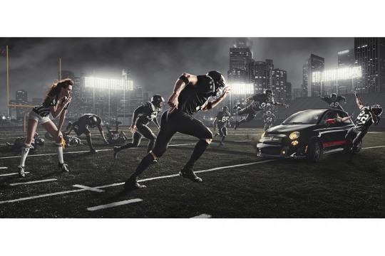 fotografías futbol americano dave hill
