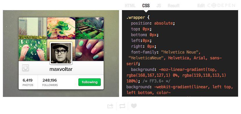 código fuente de diseños UI