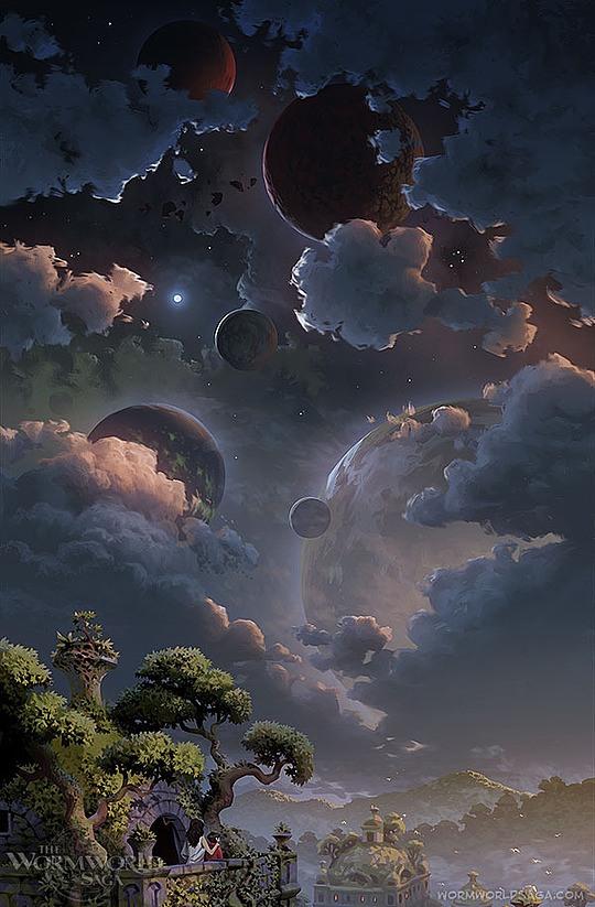 ilustraciones infantiles daniel lieske planetas