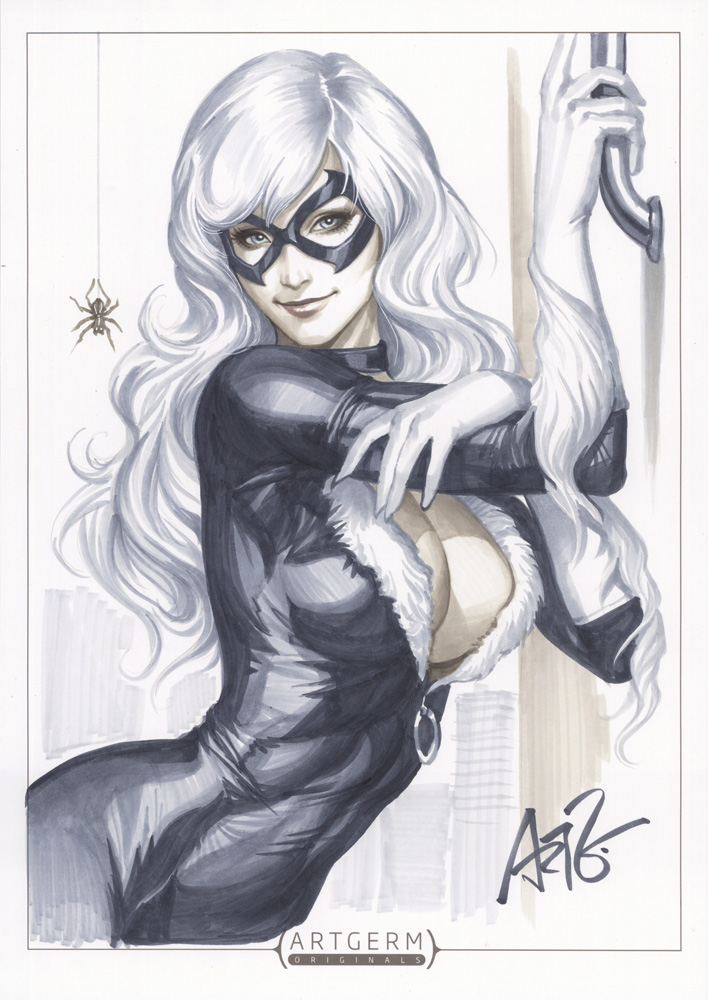 comics Black Cat