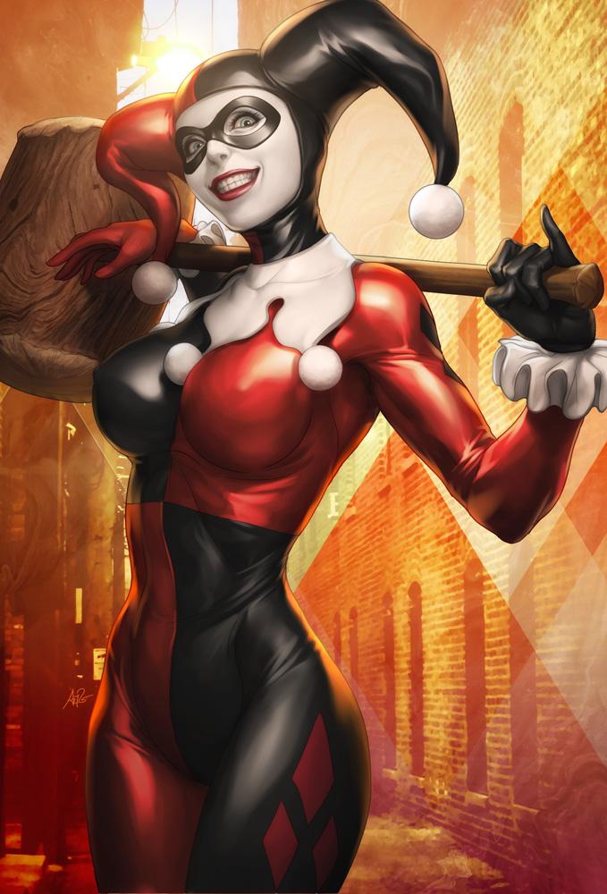 ilustraciones de Harley Quinn