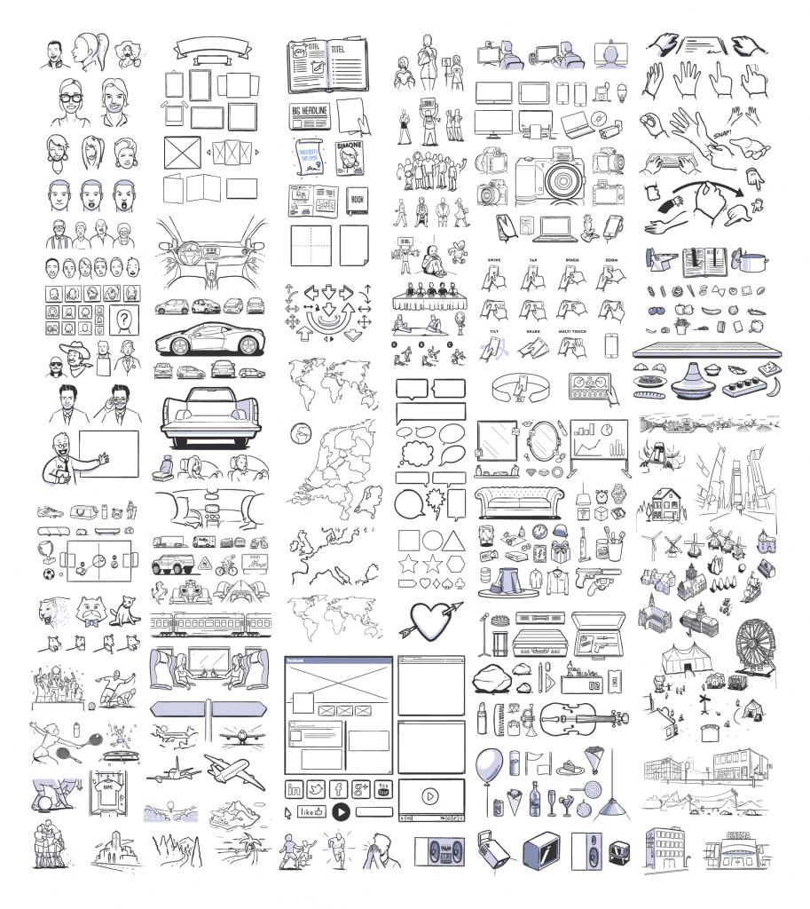 ilustraciones para storyboards