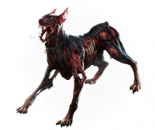 ilustraciones sixmorevodka perro zombie