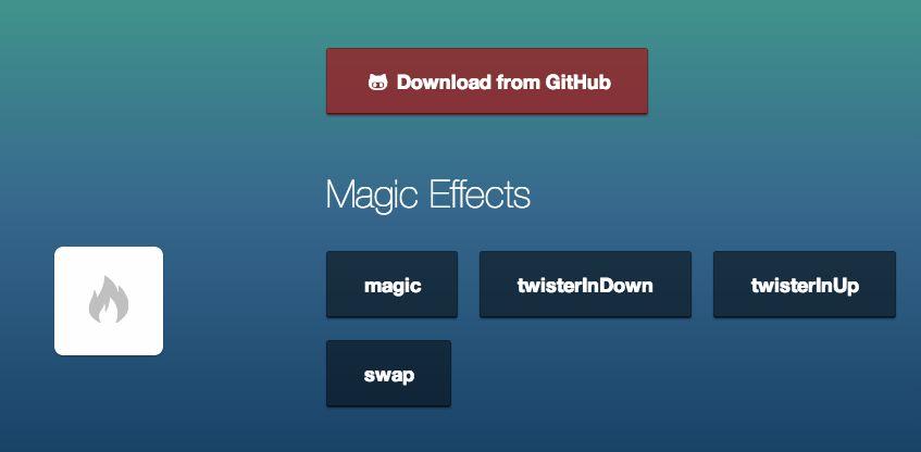 magic framework animaciones CSS