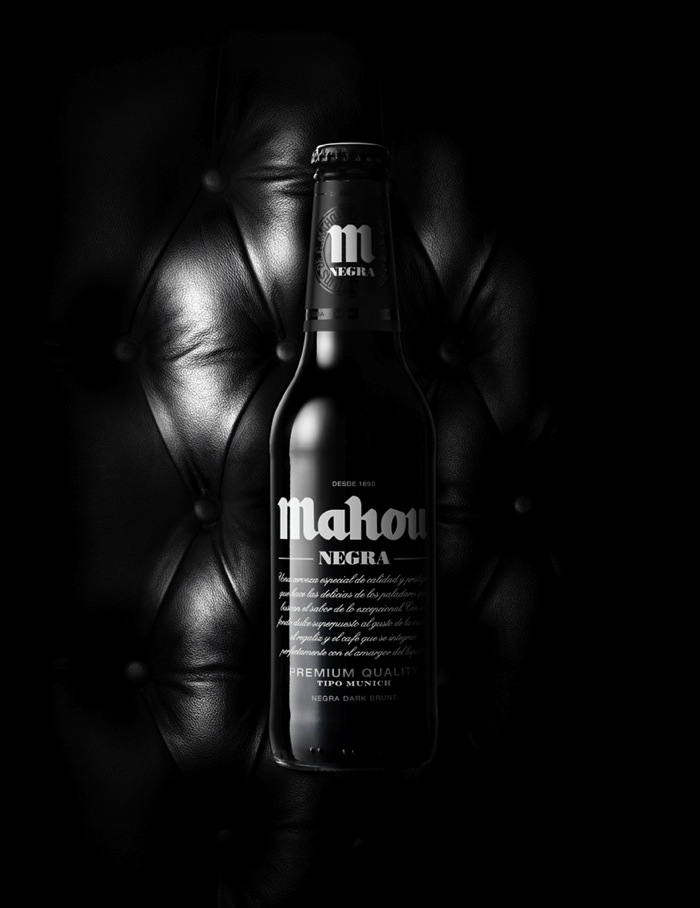 packaging cervezas Mahau negra