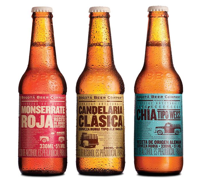 packaging cervezas bogota beer