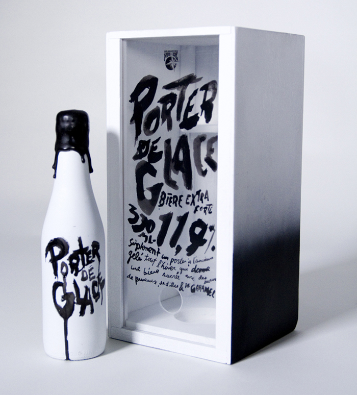 packaging cervezas porter de glace