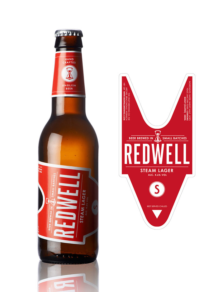 packaging cervezas red well