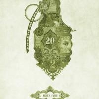 poster creativo dinero granada