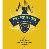 poster creativo funk