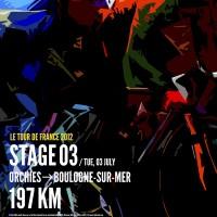 poster tour de francia 2012