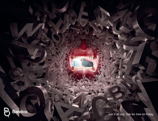 publicidad batelco let it all out 1