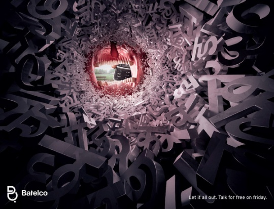 publicidad batelco let it all out