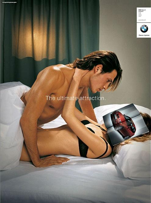 publicidad sexy bmw