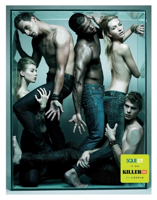 publicidad sexy killer jeans