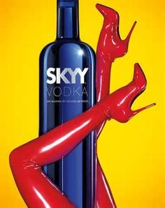 publicidad sexy sky vodka