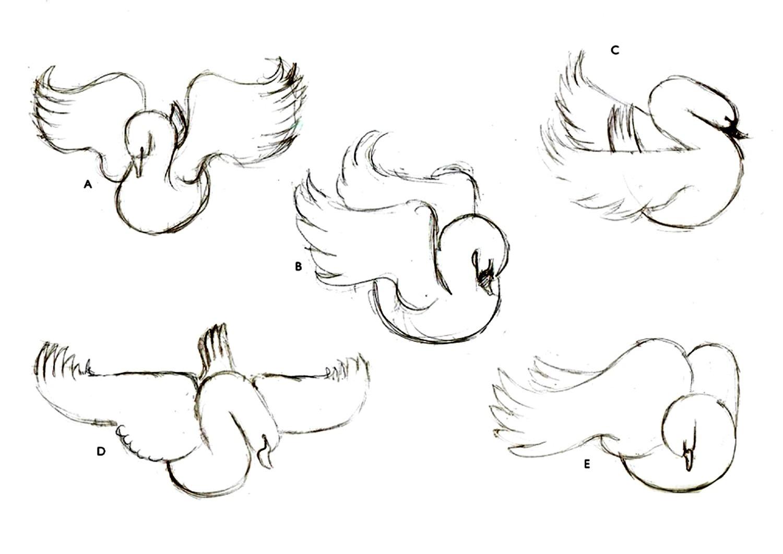 Tutorial crear ilustración de cisne