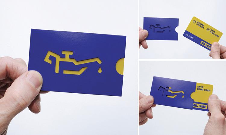 Diseños de tarjetas de presentación aceites