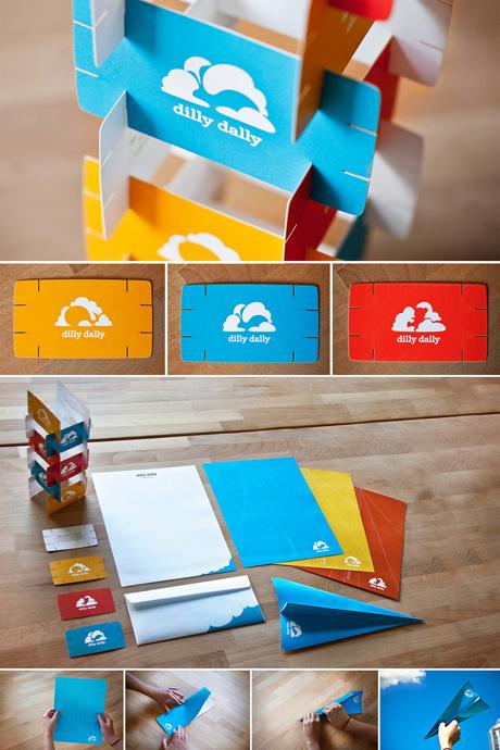 tarjetas de presentacion dilly dally