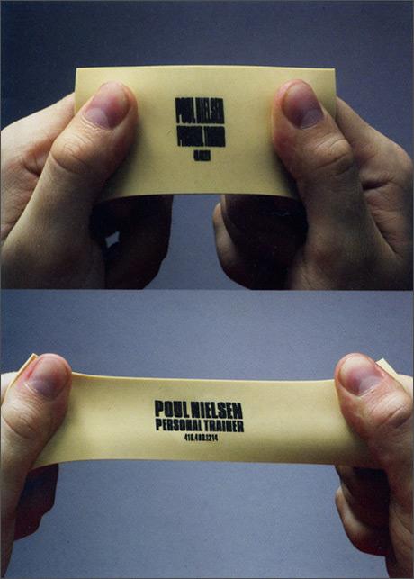 tarjetas de presentacion elastica