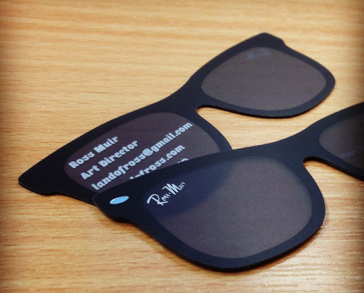 tarjetas de presentacion lentes