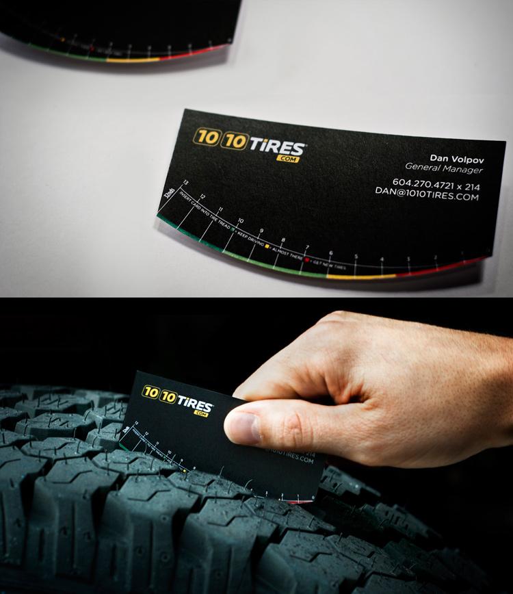 tarjetas de presentacion llantas neumaticos