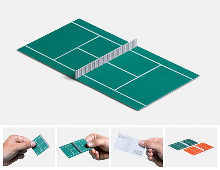 tarjetas de presentacion tennis
