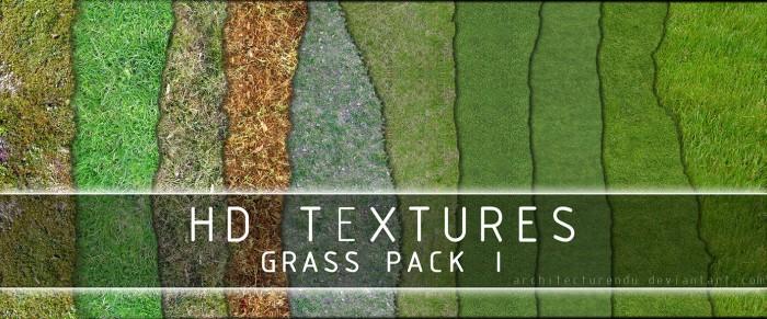 Paquetes de texturas HD de cesped