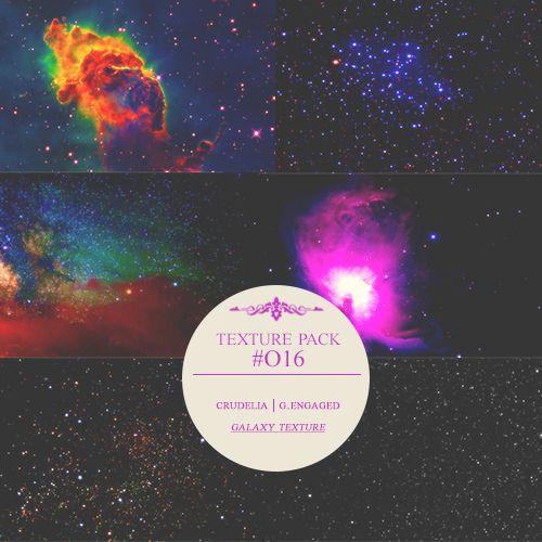 texturas HD de galaxias y el espacio