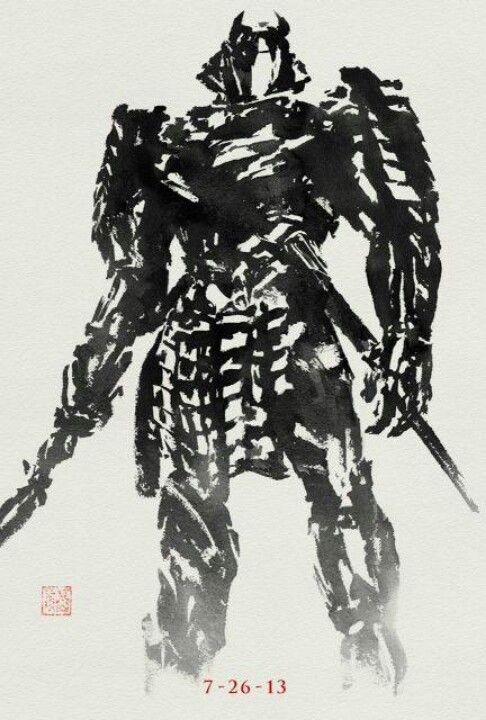 the wolverine silver samurai