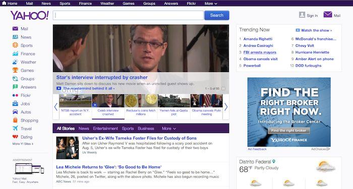 El nuevo logo de Yahoo