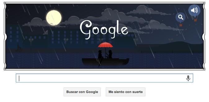 Google Doodle por 151 aniversario de Claude Debussy