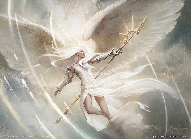 Ilustraciones diosa angel