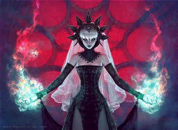 Ilustraciones diosa malvada