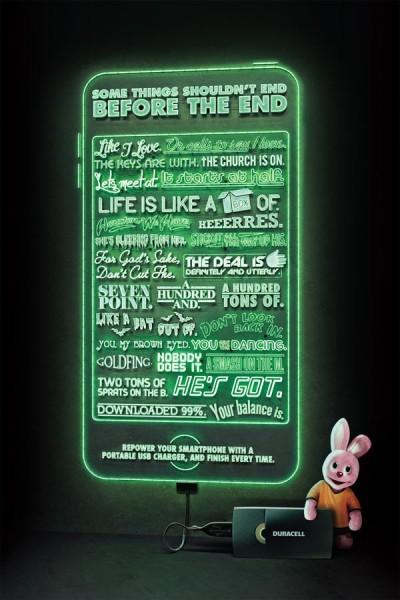 carteles de publicidad duracell