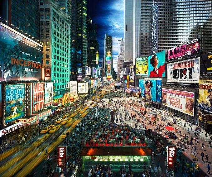 Fotografías de Nueva York corazon de la ciudad