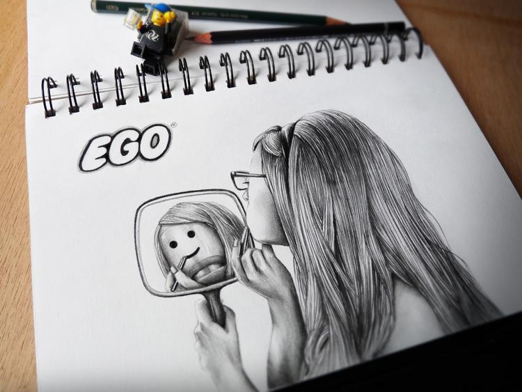 dibujos a lápiz EGO