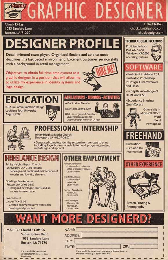 diseño de currículum periodico