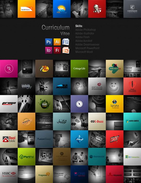 diseño de currículum web