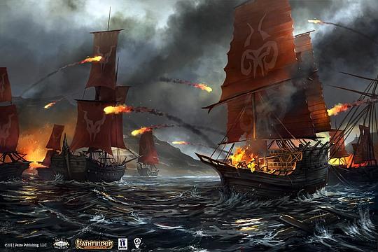 Diseños conceptuales por Bryan Sola barcos piratas