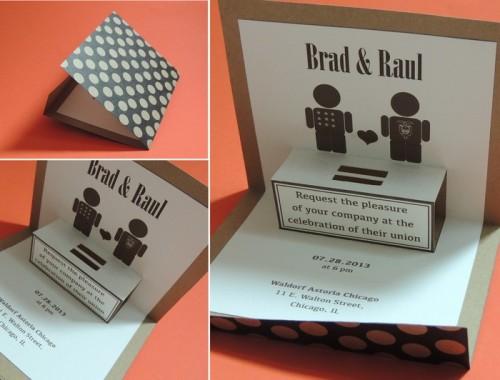ejemplos de invitaciones creativas para bodas 8
