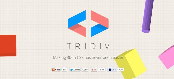 Aplicación para crear formas 3D con CSS
