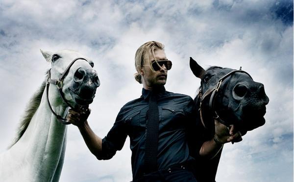 fotografia cinematografica hombre y caballos