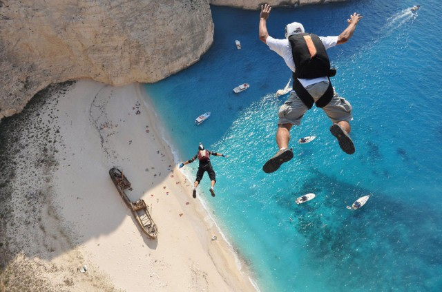 fotos salto en paracaidas