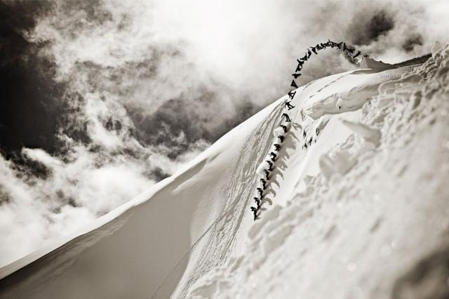 fotos extremas snowboarding